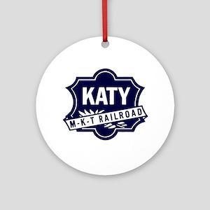 Katy Line Railway Round Ornament