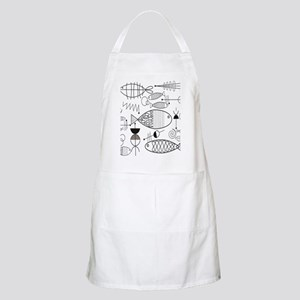 Mid-Century Fish Light Apron