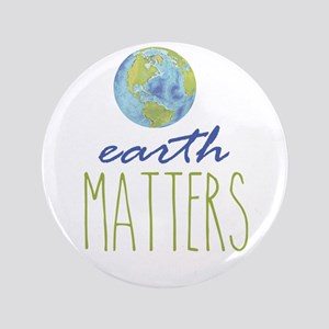 Earth Matters Button