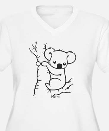 Koala Bear Plus Size T-Shirt