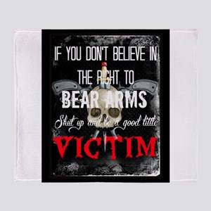 Right to bear arms Throw Blanket