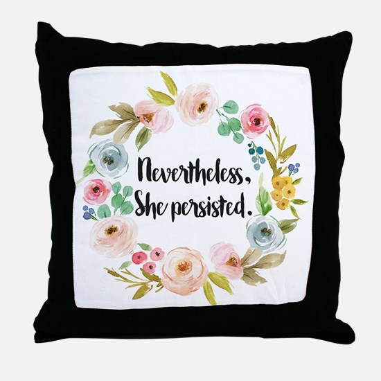 Cool Elizabeth warren Throw Pillow