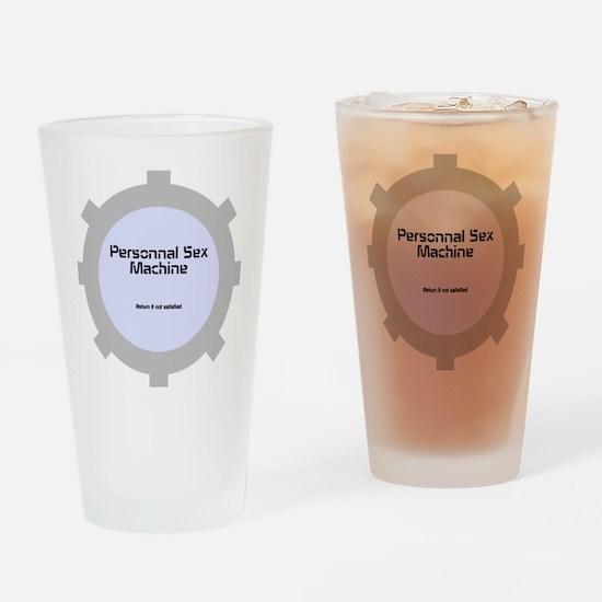 Personnal Sex Machine Drinking Glass