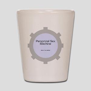 Personnal Sex Machine Shot Glass