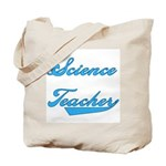 Blue Text Science Teacher Tote Bag