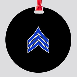 Police Sergeant (Blue) Ornament