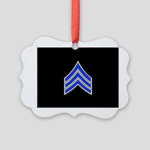 Police Sergeant (Blue) Ornament