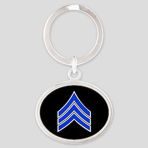Police Sergeant (Blue) Keychains