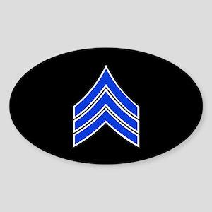 Police Sergeant (Blue) Sticker