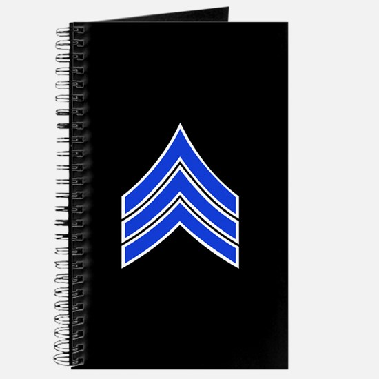 Police Sergeant (Blue) Journal