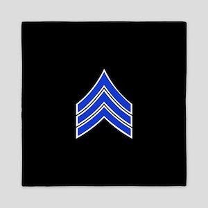 Police Sergeant (Blue) Queen Duvet