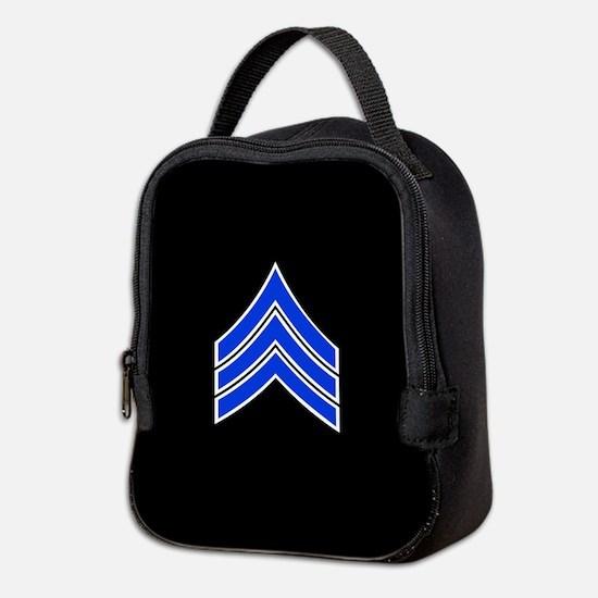 Police Sergeant (Blue) Neoprene Lunch Bag