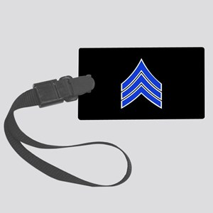Police Sergeant (Blue) Luggage Tag