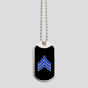 Police Sergeant (Blue) Dog Tags
