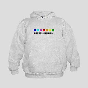 Determination Hearts - Blk Sweatshirt