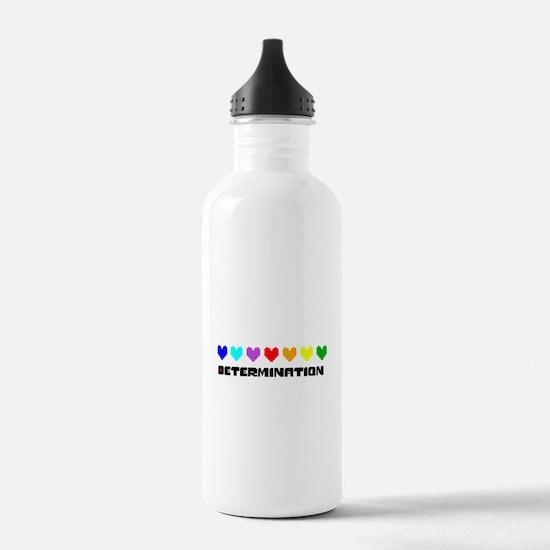 Determination Hearts - Water Bottle