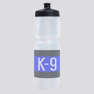 Police K-9 (Thin Blue Line) Sports Bottle