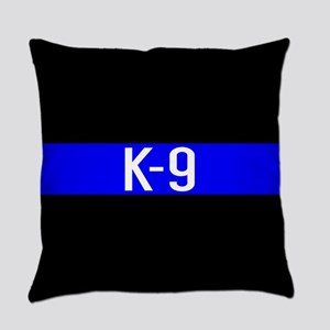 Police K-9 (Thin Blue Line) Everyday Pillow