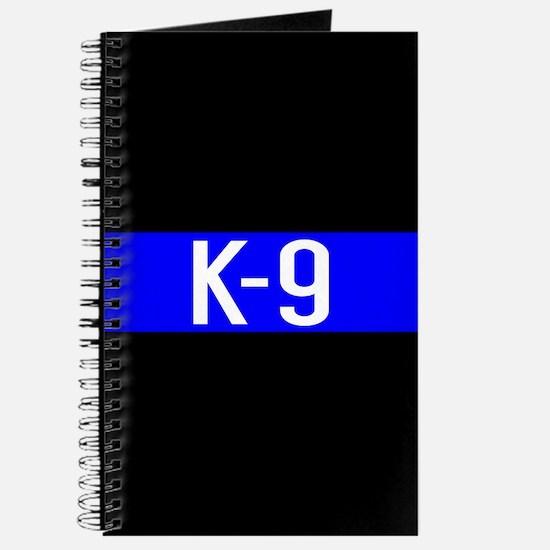 Police K-9 (Thin Blue Line) Journal