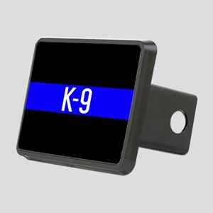 Police K-9 (Thin Blue Line Rectangular Hitch Cover