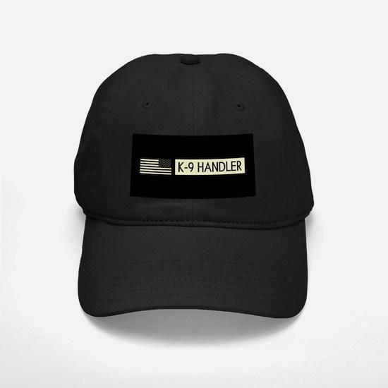 K-9 Handler (Black Flag) Baseball Hat