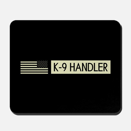 K-9 Handler (Black Flag) Mousepad