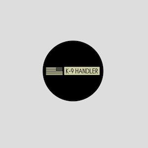 K-9 Handler (Black Flag) Mini Button
