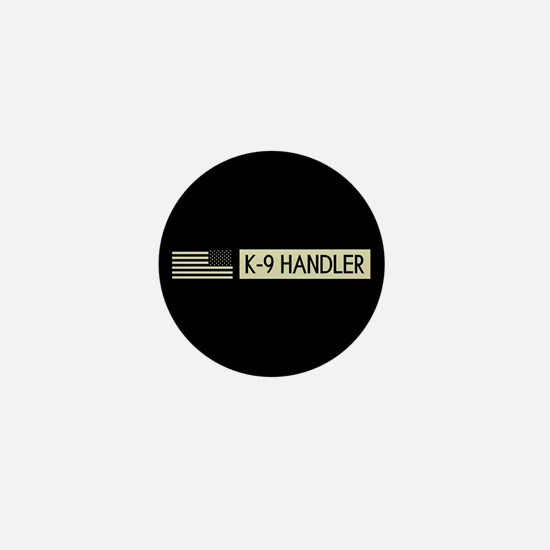 K-9 Handler (Black Flag) Mini Button