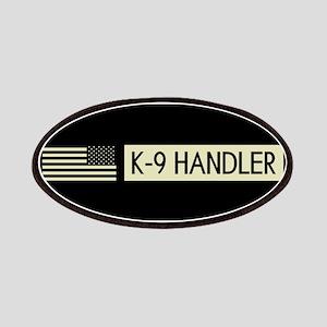 K-9 Handler (Black Flag) Patch