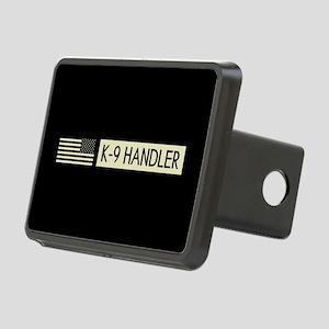 K-9 Handler (Black Flag) Rectangular Hitch Cover