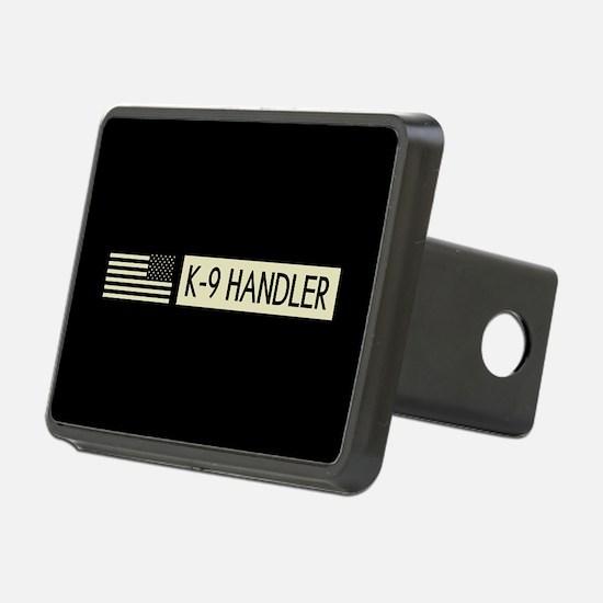 K-9 Handler (Black Flag) Hitch Cover