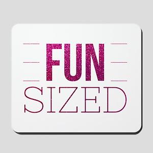 Fun Sized Motivational Glitter Quote Mousepad