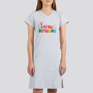 It's My Birthday Letters Women's Nightshirt