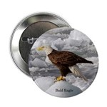 "Bald Eagle 2.25"" Button"
