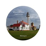 Whitefish Point Lighthouse Button