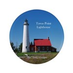 Tawas Point Lighthouse Button