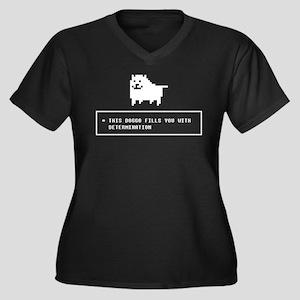 Doggo Determination Plus Size T-Shirt