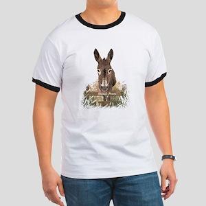 Bad Ass Fun Donkey Humor Quote T-Shirt