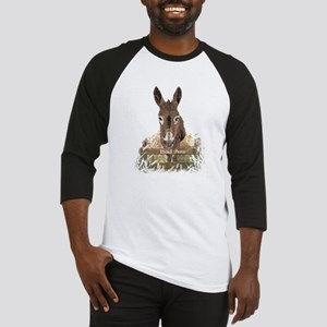 Bad Ass Fun Donkey Humor Quote Baseball Jersey