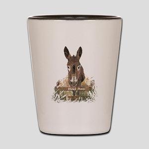 Bad Ass Fun Donkey Humor Quote Shot Glass