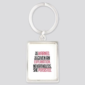Nevertheless, She Persisted. Keychains