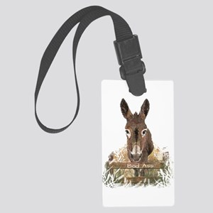 Bad Ass Fun Donkey Humor Quote Large Luggage Tag