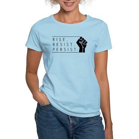 Rise. Resist. Persist. Women's Light T-Shirt