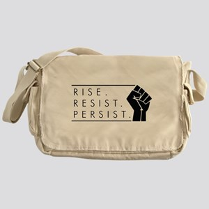 Rise. Resist. Persist. Messenger Bag