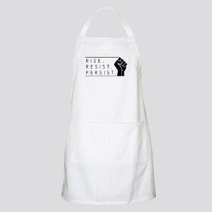 Rise. Resist. Persist. Light Apron