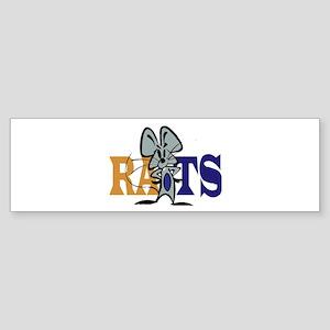 RATS! Bumper Sticker