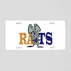 RATS! Aluminum License Plate
