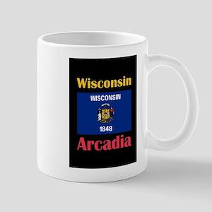 Arcadia Wisconsin Mugs
