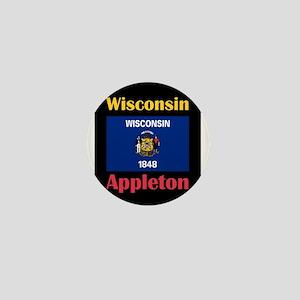 Appleton Wisconsin Mini Button