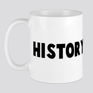 History is bunk Mug